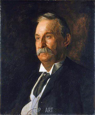 Portrait of Edward Taylor Snow, 1904 | Thomas Eakins | Painting Reproduction