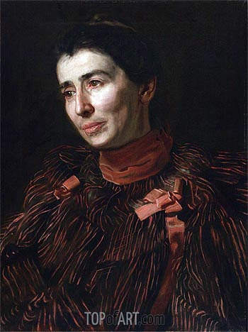 Portrait of Mary Adeline Williams, c.1900 | Thomas Eakins | Painting Reproduction