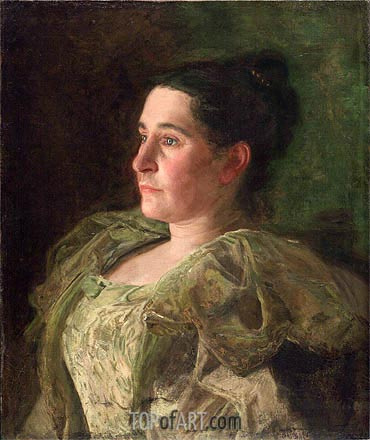 Portrait of Mrs. James Mapes Dodge (Josephine Kern), 1896 | Thomas Eakins | Painting Reproduction