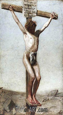 The Crucifixion, 1880 | Thomas Eakins | Painting Reproduction