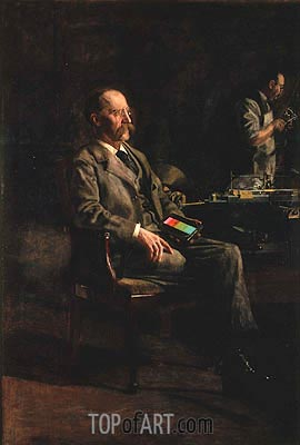 Professor Henry A. Rowland, 1897 | Thomas Eakins | Painting Reproduction
