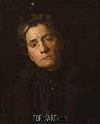 Portrait of Mrs. Thomas Eakins, c.1899 | Thomas Eakins| Painting Reproduction