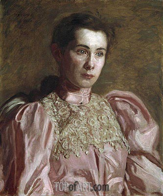 Miss Gertrude Murray, 1895 | Thomas Eakins | Painting Reproduction