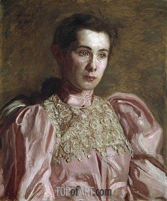 Thomas Eakins | Miss Gertrude Murray, 1895