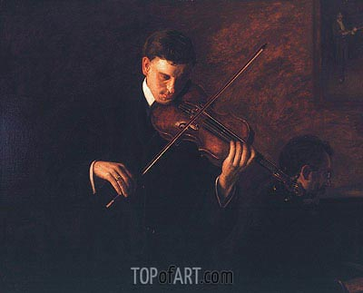 Music, 1904 | Thomas Eakins | Painting Reproduction