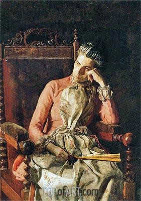 Thomas Eakins | Miss Amelia Van Buren, c.1891