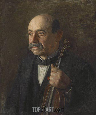 Major Manuel Waldteufel, 1907 | Thomas Eakins | Painting Reproduction