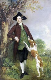 Portrait of George Venables Vernon, 2nd Lord Vernon, 1767 by Gainsborough | Painting Reproduction