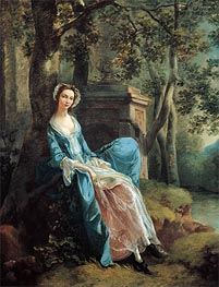 Portrait of a Woman, Possibly of the Lloyd Family | Gainsborough | outdated