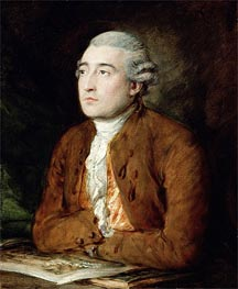 Philip Jakob de Loutherberg, Undated by Gainsborough | Painting Reproduction