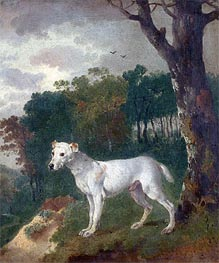 'Bumper', a Bull Terrier, 1745 by Gainsborough | Painting Reproduction