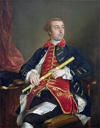 William Wollaston, c.1759 by Gainsborough   Painting Reproduction