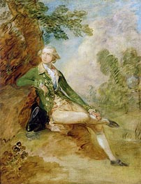 Edward Augustus, Duke of Kent, c.1787 by Gainsborough   Painting Reproduction