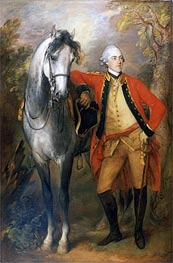 Edward, Second Viscount Ligonier, 1770 by Gainsborough | Painting Reproduction