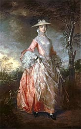Mary, Countess Howe, c.1763/64 by Gainsborough | Painting Reproduction