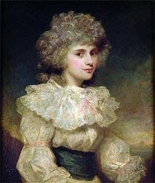 Lady Elizabeth Foster later Elizabeth Cavendish, Duchess of Devonshire, Undated by Gainsborough | Painting Reproduction
