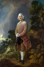 Dr Ralph Schomberg, a.1770 by Gainsborough | Painting Reproduction