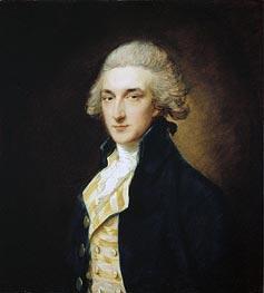Sir John Edward Swinburne, 1785 by Gainsborough | Painting Reproduction