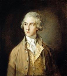 Edward Swinburne, 1785 by Gainsborough | Painting Reproduction