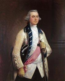 Major General Sir William Draper, c.1765 by Gainsborough | Painting Reproduction