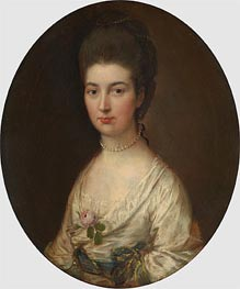 Mrs. Ralph Izard (Alice DeLancey), Undated by Gainsborough | Painting Reproduction