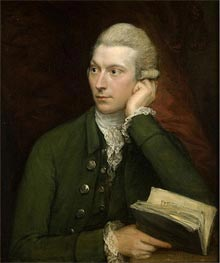 Portrait of John Palmer, c.1775 by Gainsborough | Painting Reproduction