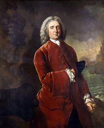 Edward Vernon, c.1753 by Gainsborough | Painting Reproduction