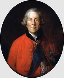 Portrait of John Russell, 4th Duke of Bedford, c.1770 by Gainsborough | Painting Reproduction