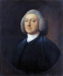 Portrait of Dr. William Walcot, Undated by Gainsborough | Painting Reproduction