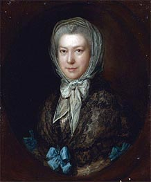 Portrait of Miss Low, Undated by Gainsborough | Painting Reproduction