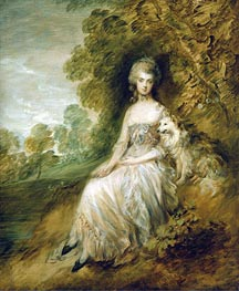 Mrs Mary Robinson, 1782 by Gainsborough | Painting Reproduction