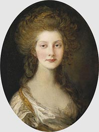 Princess Augusta, 1782 by Gainsborough | Painting Reproduction