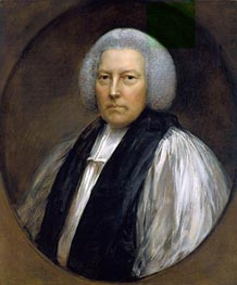 Richard Hurd, Bishop of Worcester, 1781 by Gainsborough | Painting Reproduction