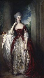 Anne, Duchess of Cumberland, c.1773/77 by Gainsborough | Painting Reproduction