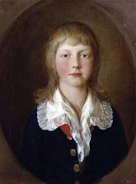 Prince Ernest, later Duke of Cumberland, 1782 by Gainsborough | Painting Reproduction