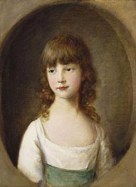Princess Mary, 1782 by Gainsborough | Painting Reproduction