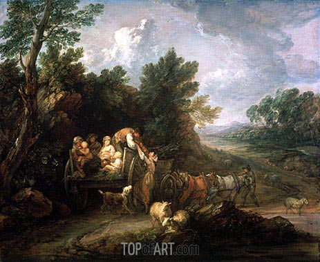 Gainsborough | The Harvest Waggon, 1784