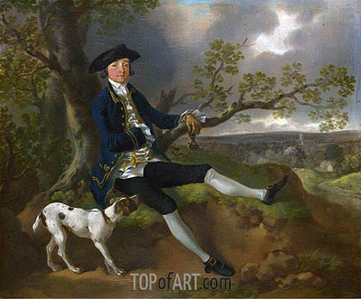 John Plampin, a.1752 | Gainsborough | Painting Reproduction