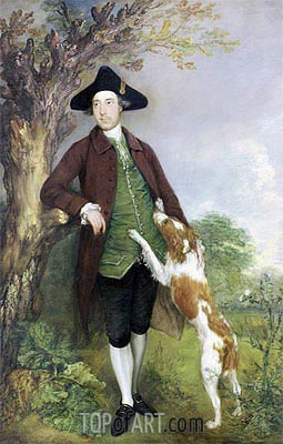 Gainsborough | Portrait of George Venables Vernon, 2nd Lord Vernon, 1767