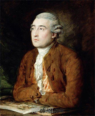 Philip Jakob de Loutherberg,  | Gainsborough| Painting Reproduction