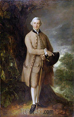 Gainsborough | William Johnstone-Pulteney, Later 5th Baronet, c.1772