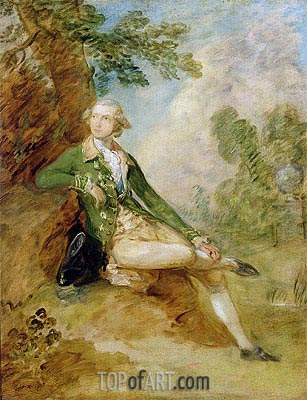 Edward Augustus, Duke of Kent, c.1787 | Gainsborough | Painting Reproduction