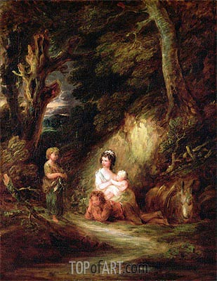 Gainsborough | Gypsy Encampment, c.1788/92