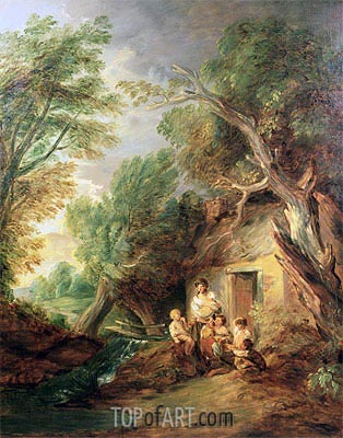 Gainsborough | The Cottage Door, c.1780/88