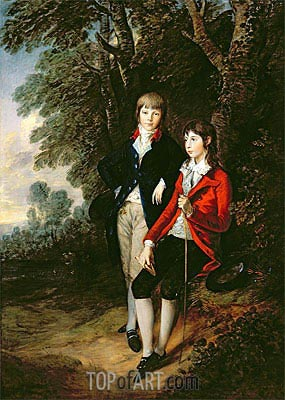 Edward and Thomas Tomkinson, c.1784 | Gainsborough | Painting Reproduction