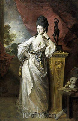Penelope (Pitt), Viscountess Ligonier, 1770 | Gainsborough | Painting Reproduction