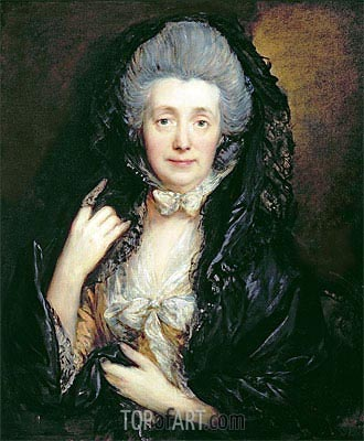 Portrait of Mrs. Mary Gainsborough, c.1779 | Gainsborough| Gemälde Reproduktion