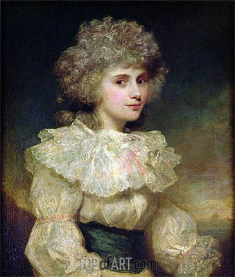 Lady Elizabeth Foster later Elizabeth Cavendish, Duchess of Devonshire,  | Gainsborough | Painting Reproduction