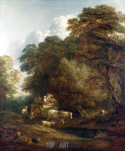 The Market Cart, 1786 | Gainsborough| Painting Reproduction