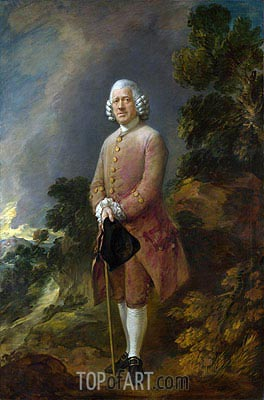 Gainsborough | Dr Ralph Schomberg, a.1770